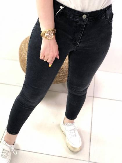 شلوار جین فاق بلند0387