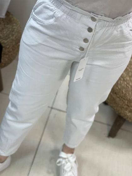 شلوار مام استایل فاق بلندکد0184